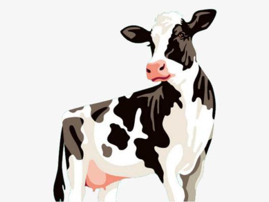 牛のかわいいイラスト(絵)4