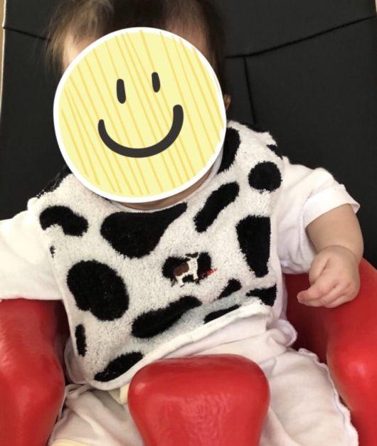 牛のかわいい子供服3