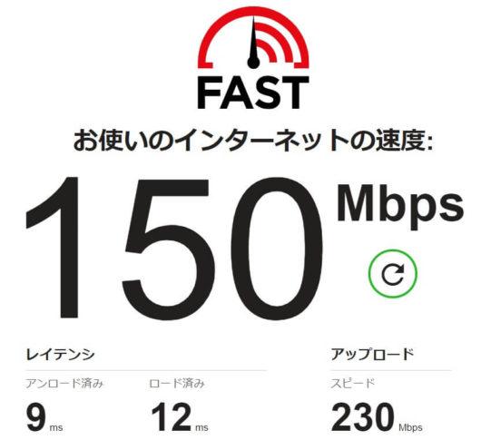 パソコンの無線接続(Wi-Fi):平日の深夜1時