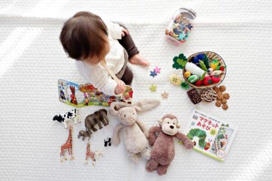 """生後7ヶ月頃からは、""""遊びたい欲""""が強くなる話"""